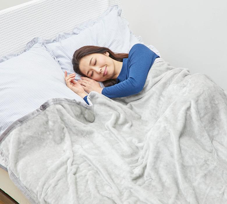 BSファイン毛布・敷きパッドセット(ダブルサイズ)